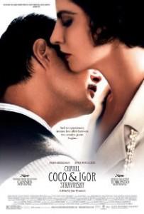 Coco Chanel és Igor Stravinsky – Egy titkos szerelem története, romantikus, dráma 2009