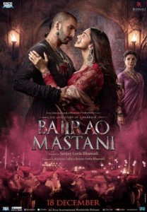 Bajirao Mastani-színes, indiai történelmi dráma, 158 perc, 2015