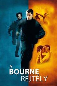 A Bourne-rejtély-színes, magyarul beszélő, amerikai-német-cseh thriller, 119 perc, 2002