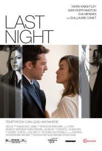 Tegnap éjjel-magyarul beszélő, amerikai-francia romantikus dráma, 93 perc, 2010